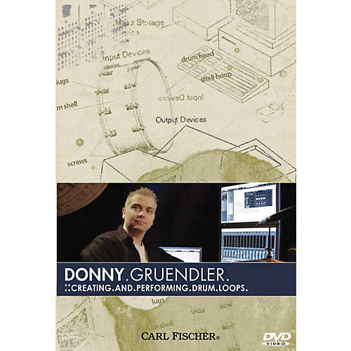 Carl Fischer Creating and Performing Drum Loops DVD