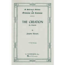 G. Schirmer Creation (Chorus Parts) SATB Score composed by Franz Josef Haydn