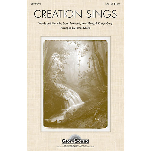 Shawnee Press Creation Sings the Father's Song SATB arranged by James Koerts