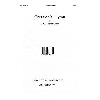 Music Sales Creation's Hymn SATB a cappella Composed by Ludwig van Beethoven