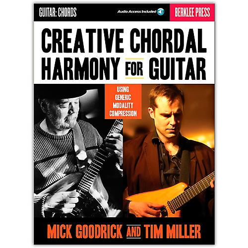 Berklee Press Creative Chordal Harmony For Guitar - Berklee Press Book/Online Audio