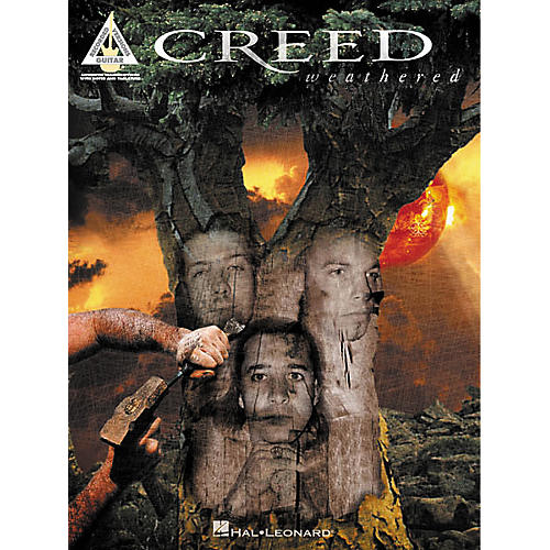 Hal Leonard Creed - Weathered Guitar Tab Songbook
