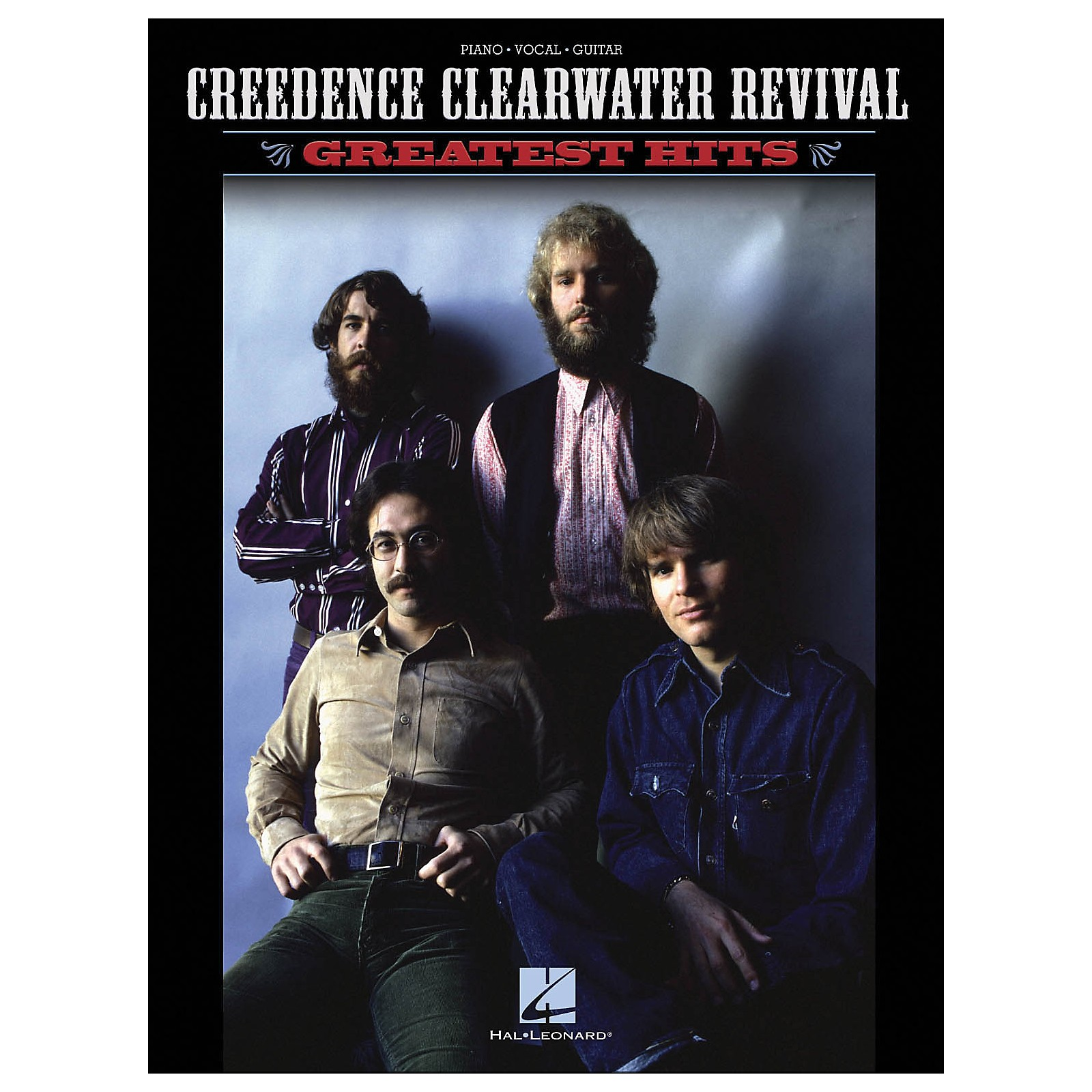 Hal Leonard Creedence Clearwater Revival Greatest Hits arranged for piano, vocal, and guitar (P/V/G)