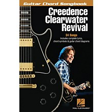 Hal Leonard Creedence Clearwater Revival Guitar Chord Songbook Series Softcover by Creedence Clearwater Revival