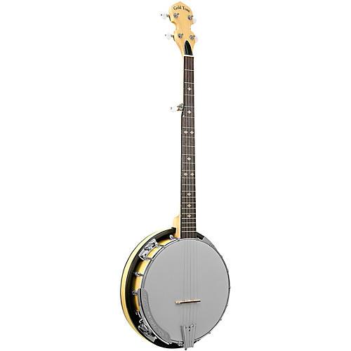 Gold Tone Cripple Creek Left-Handed Resonator Banjo Gloss Natural