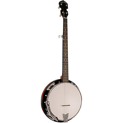 Gold Tone Cripple Creek CC-50RP/L Left-Handed Resonator Banjo With Planetary Tuners and Gig Bag