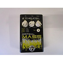 TC Helicon Critical Mass Effect Pedal