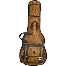 Open Box Levy's 'Crocodile' Leather Electric Guitar Gig Bag