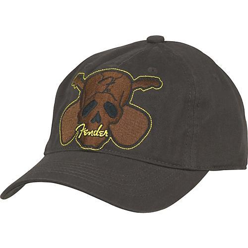 Fender Cross Skull Embroidered Adjustable Hat