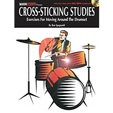 Modern Drummer Cross-Sticking Studies Book Series Softcover Audio Online Written by Ron Spagnardi