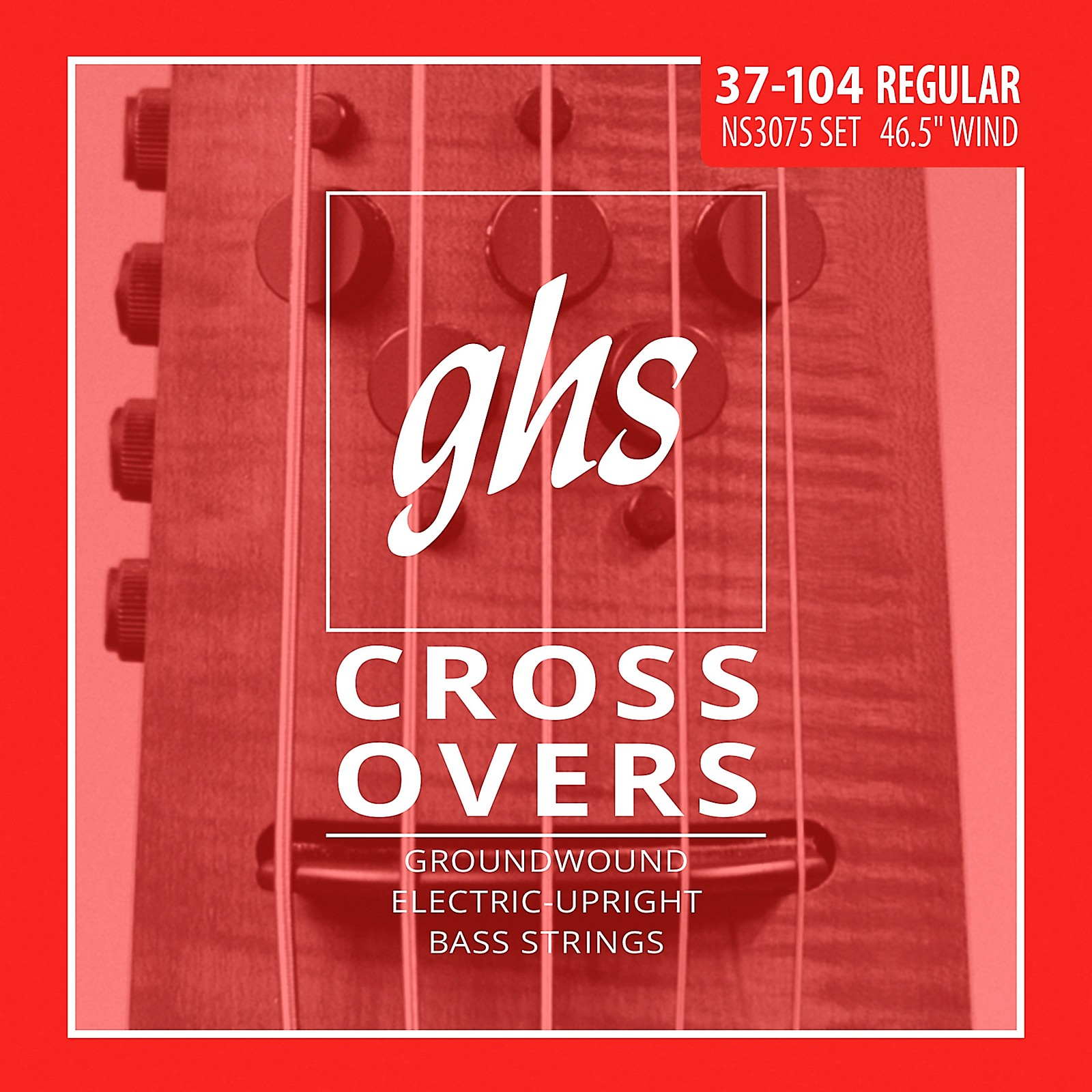 GHS Crossovers NS Design 5-String Upright Electric Bass Strings (47-128)