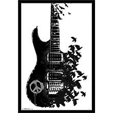 Trends International Crow Guitar Poster