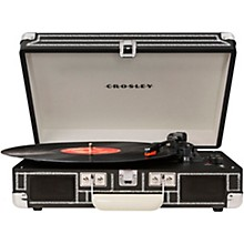 Cruiser Deluxe Portable Turntable Vinyl Record Player with Built-in Speaker Chalkboard