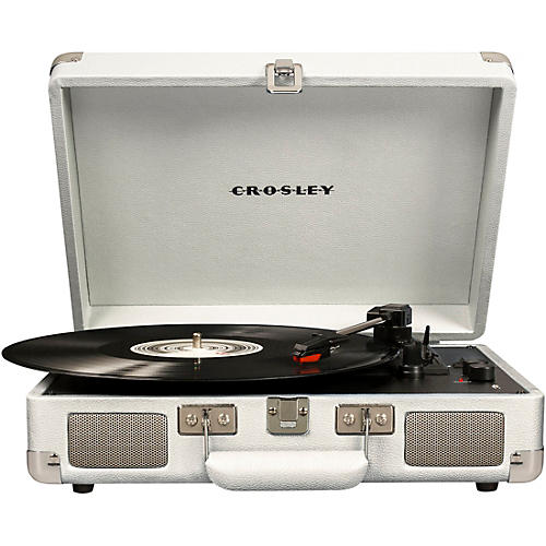 Crosley Cruiser Deluxe Portable Turntable Vinyl Record Player with Built-in Speaker