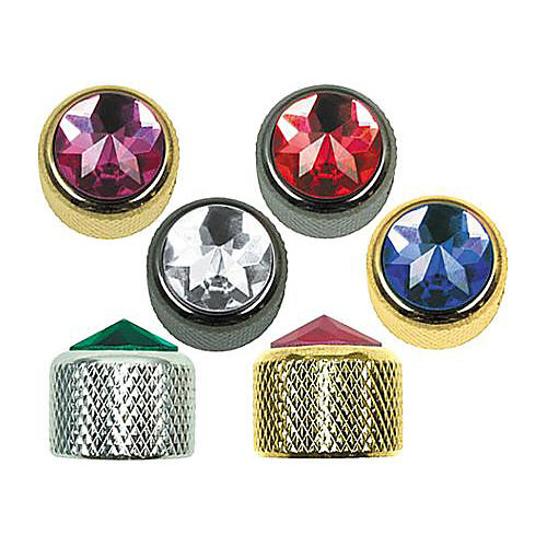 Q Parts Crystal Dome Knob Single