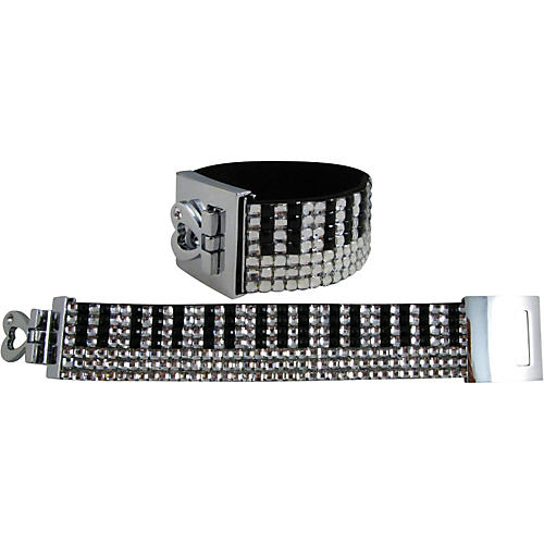 AIM Crystal Keyboard Bracelet (7-Row)