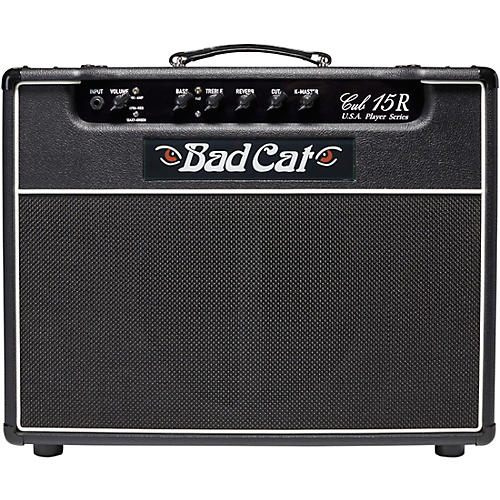 8dca152ac4e Bad Cat Cub 15R USA Player Series 15W 1x12 Tube Guitar Combo Amp ...