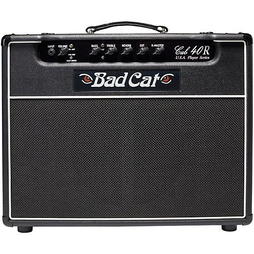 bf62c729c39 Bad Cat Cub 40R USA Player Series 40W 1x12 Tube Guitar Combo Amp ...