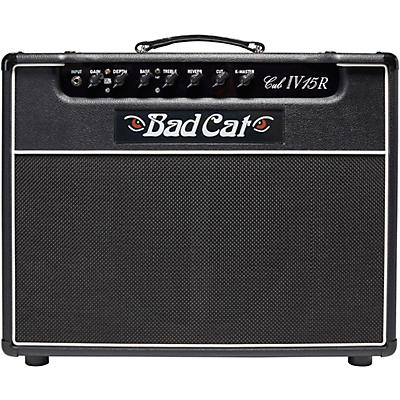 Bad Cat Cub IV15R 15W 1x12 Guitar Combo Amp With Reverb
