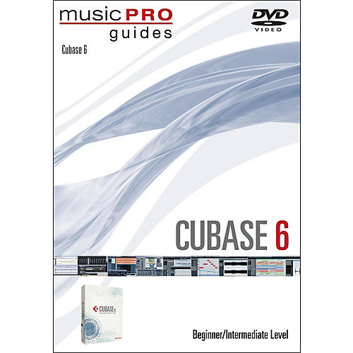 Hal Leonard Cubase 6 Music Pro Guide DVD Tutorial