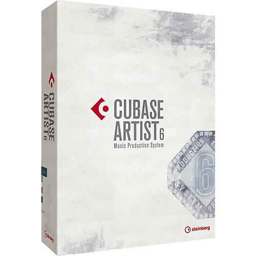 Steinberg Cubase Artist 6 Upgrade from Cubase AI 6,5,& 4, LE 6, 5,& 4, Sequel 2, Cubase SE 3, & Studio Case 2
