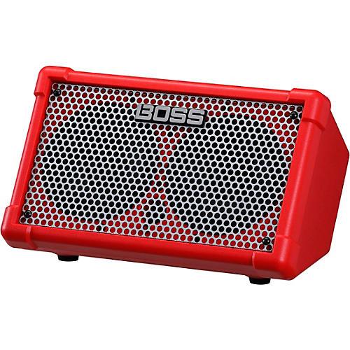 BOSS Cube Street II Battery Powered Guitar Amplifier Red