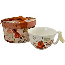 AIM Cup and Saucer Elegant Music With Gift Box