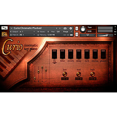 Impact Soundworks Curio: Cinematic Toy Piano (Download)