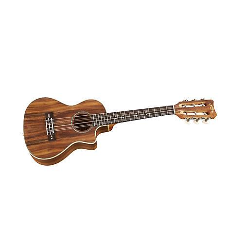 Lanikai Curly Koa Tenor 6-String Acoustic-Electric Ukulele