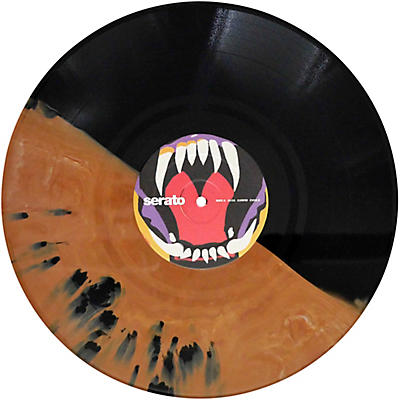 SERATO Cursed #2 Fangs Under the Full Moon! Halloween NoiseMap Timecode Control Vinyl Pair