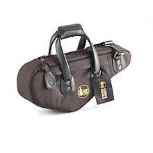 Curved European Soprano Saxophone Gig Bag 102B-MLK Black Ultra Leather