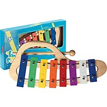 Stagg Curved Metallophone, 8 Keys, C-C