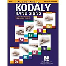 Hal Leonard Curwen/Kodaly Hand Signs Poster Set