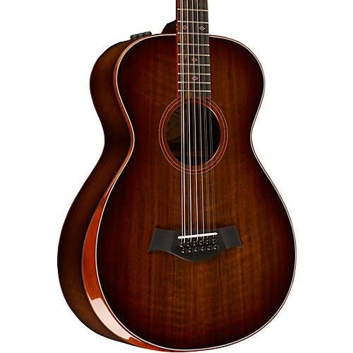 taylor custom 10067 12 fret 12 string grand concert acoustic electric guitar musician 39 s friend. Black Bedroom Furniture Sets. Home Design Ideas