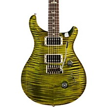 Custom 24 Carved Flame Maple 10 Top with Nickel Hardware Solidbody Electric Guitar Jade