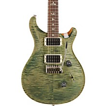 Custom 24 with Carved Top Electric Guitar Trampas Green