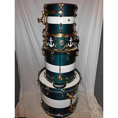 SJC Drums Custom 4 Piece Kit Drum Kit