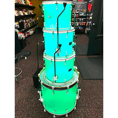SJC Drums Custom Acrylic DrumLite Drum Kit