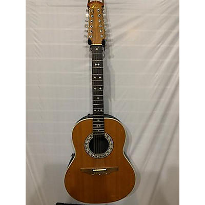 Ovation Custom Balladeer 1755 12 String Acoustic Electric Guitar