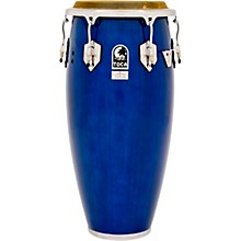 Custom Deluxe 30 in. Wood Shell Congas 11 in. Blue