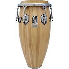 Custom Deluxe 30 in. Wood Shell Congas 11 in. Natural Wood