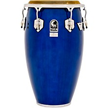 Custom Deluxe 30 in. Wood Shell Congas 12.50 in. Blue