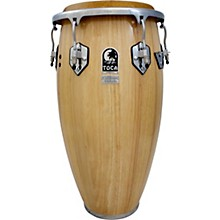 Custom Deluxe 30 in. Wood Shell Congas 12.50 in. Natural Wood