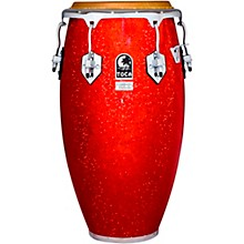 Custom Deluxe Solid Fiberglass Congas 12.50 in. Red Sparkle