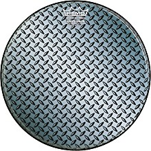 Custom Diamond Plate Graphic Bass Drum Head 20 in.