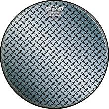Custom Diamond Plate Graphic Bass Drum Head 22 in.