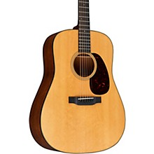 Martin Custom Dreadnought Flamed Mahogany with Bearclaw Top Deluxe