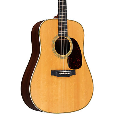 Martin Custom East Indian Rosewood Dreadnought with Bearclaw Top Deluxe