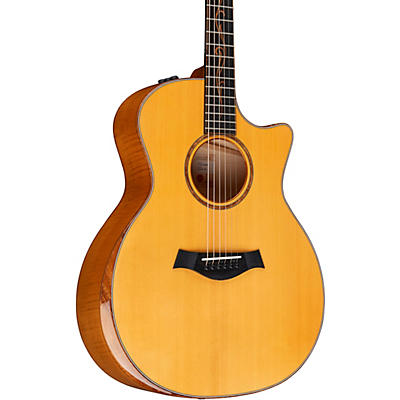 Taylor Custom Euro Maple Grand Auditorium Acoustic Electric Guitar