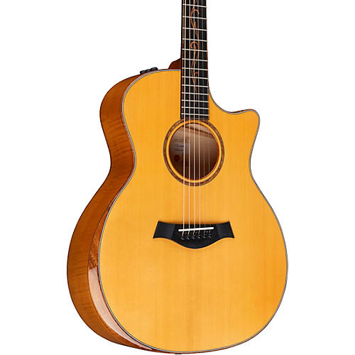 Taylor Custom Euro Maple Grand Auditorium Acoustic Electric Guitar Aged Toner